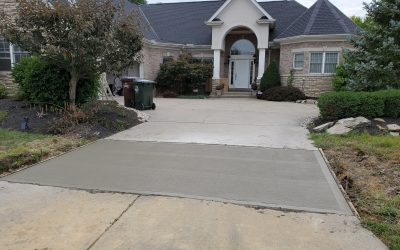 When to replace a concrete driveway or patio