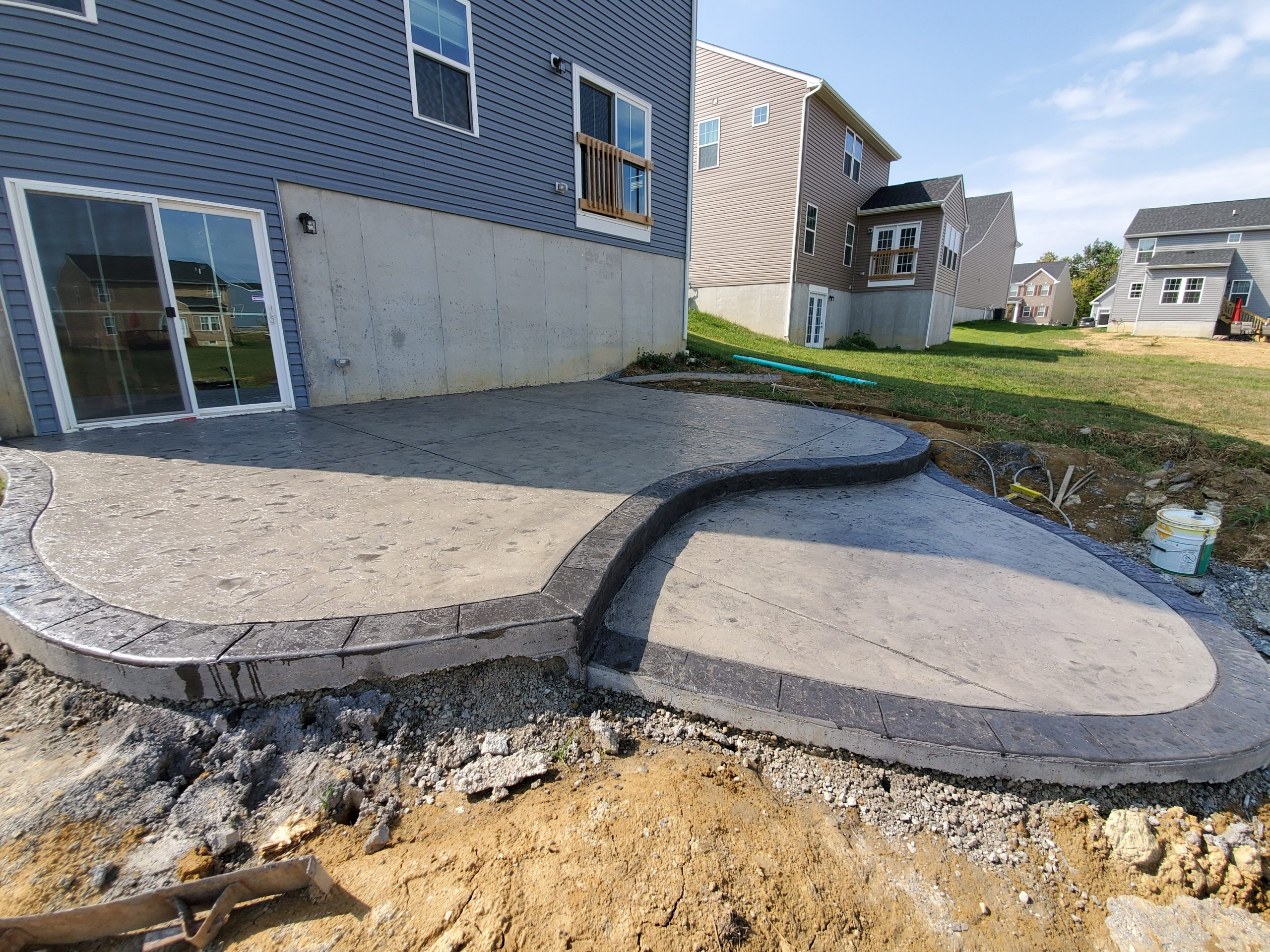 SOLIDForm Concrete stamped patio