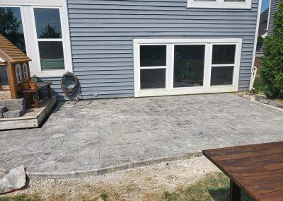 SOLIDForm Concrete concrete patio