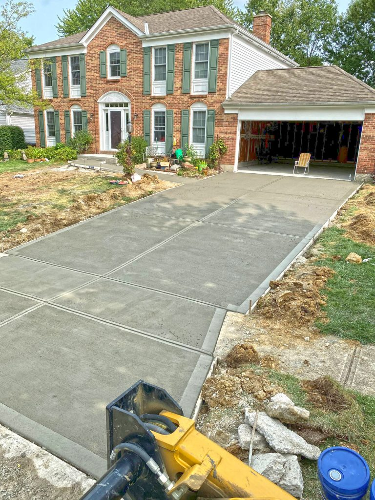 SOLIDForm Concrete stamped concrete patio