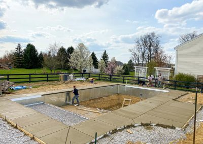 SOLIDForm Concrete concrete pool deck